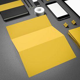 pic of 3d  - Template business for branding - JPG