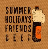 pic of drawing beer  - Summer - JPG