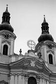 stock photo of magdalene  - Saint Mary Magdalene church in Karlovy Vary the Czech Republic - JPG