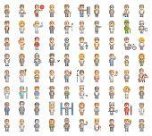 picture of pixel  - Pixel people - JPG