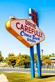 Постер, плакат: Welcome To Fabulous Las Vegas Sign Las Vegas Nevada Usa