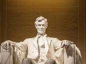 Постер, плакат: The Lincoln Statue