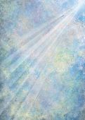 picture of abstract painting  - Abstract digital art background of a light ray in softly colored blended clouds - JPG