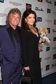 LOS ANGELES - OCT 23:  Ken Todd, Lisa Vanderpump, Giggy at the Real Housewives of Beverly Hills Seas