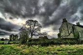 Постер, плакат: Красивый Ирландия Hounted дом