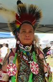 Unidentified Native American at the NYC Pow Wow in Brooklyn