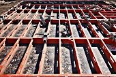 picture of formwork  - construction formwork building reinforcement construction equipment at building site - JPG