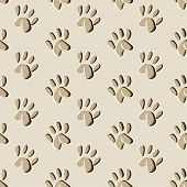 picture of 8-track  - animal prints seamless pattern  - JPG