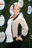 LOS ANGELES - APR 5:  Kendra Wilkinson at the Safe Kids Day Los Angeles 2014 at The Lot on April 5,