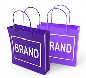 Brand Bags Show Branding Product Label Or Trademark
