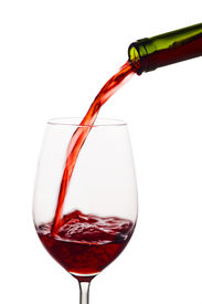 pic of peppy  - in a glass of red wine peppy is empty - JPG