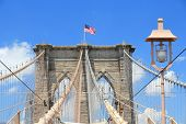 picture of brooklyn bridge  - New York City United States  - JPG