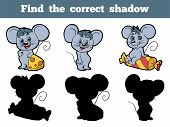 pic of mouse  - Game for children - JPG