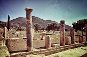 foto of ancient civilization  - Ancient Messini old ruins Messenia Peloponnese Greece - JPG