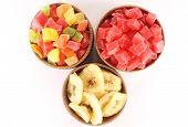 pic of dry fruit  - Dried pineapple - JPG