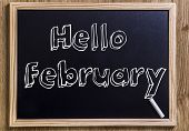 image of february  - Hello February  - JPG