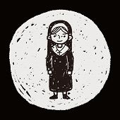 pic of nun  - Nun Doodle - JPG