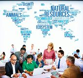 pic of nature conservation  - Natural Resources Conservation Environmental Ecology Concept - JPG