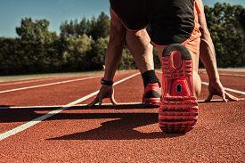 stock photo of sprinter  - sprinter - JPG