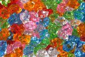 stock photo of labradorite  - color plastic diamonds as very nice luxury background - JPG