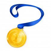 image of gold medal  - Gold Medal - JPG