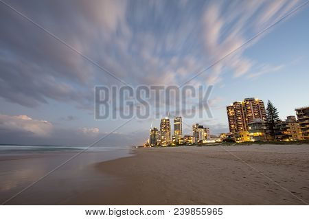 A View Of Broadbeach And