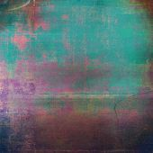 Retro vintage colored background with noise effect; grunge texture with different color patterns poster