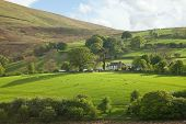 Lake District, Cumbria. UK. English countryside. spring