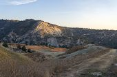 Landscape Of Cyprus Near Avakas Gorge. Wild Nature poster
