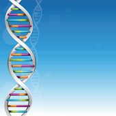 pic of pyrimidines  - DNA science background with plenty of copy space - JPG