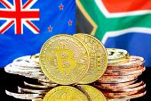 Concept For Investors In Cryptocurrency And Blockchain Technology In The New Zealand And South Afric poster