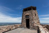 Black Elk Peak Lookout, Formerly Called Harney Peak Lookout, Is The Highest Spot East Of The Rocky M poster