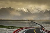 pic of sandstorms  - One of the most stunning mountain roads in the world  - JPG