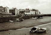 foto of palladium  - bridlington harbour at low tide - JPG