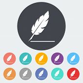 foto of scribes  - Feather - JPG