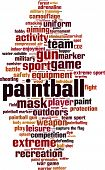 image of paintball  - Paintball word cloud concept - JPG