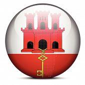 pic of gibraltar  - Vector Image  - JPG