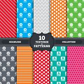 picture of first class  - Seamless patterns and textures - JPG