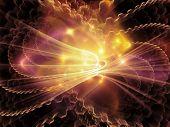 foto of sine wave  - Light Waves series - JPG