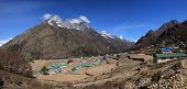 picture of sherpa  - Village situated in high altitude - JPG