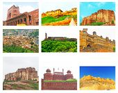 pic of quadrangles  - a group of nine forts from all around india - JPG