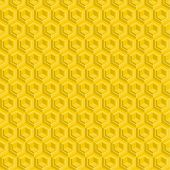 foto of honeycomb  - Seamless pattern of yellow glossy honeycombs - JPG