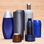 pic of cosmetic products  - Mens cosmetics - JPG