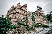 picture of castle  - Part of Colomares Castle - JPG