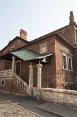 pic of synagogue  - old synagogue in jewish district of Krakow  - JPG