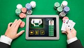 picture of poker hand  - casino - JPG