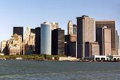 pic of woodstock  - Manhattan Island taken from the river in 1993 - JPG