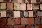 Brick Wall Texture Masonry Building Fading Stone Crack Concrete poster
