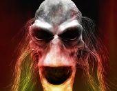 Постер, плакат: Хеллоуин монстр