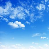 pic of clouds sky  - Blue sky with clouds - JPG